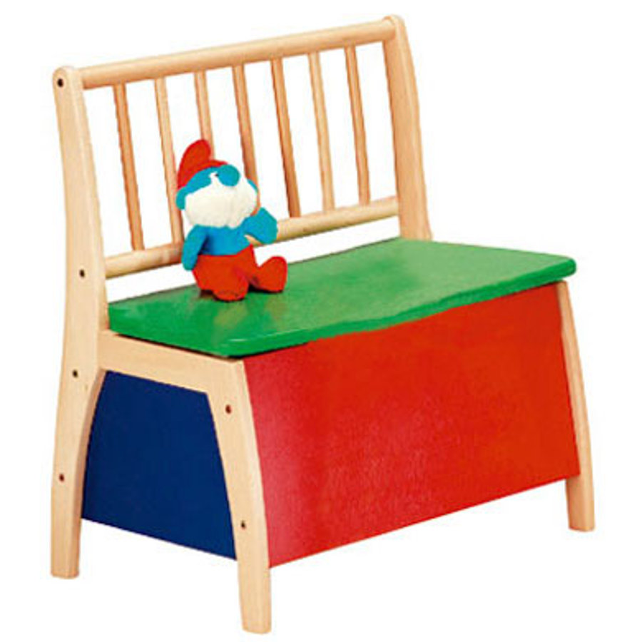 Geuther Børnebænk Bambino farverig