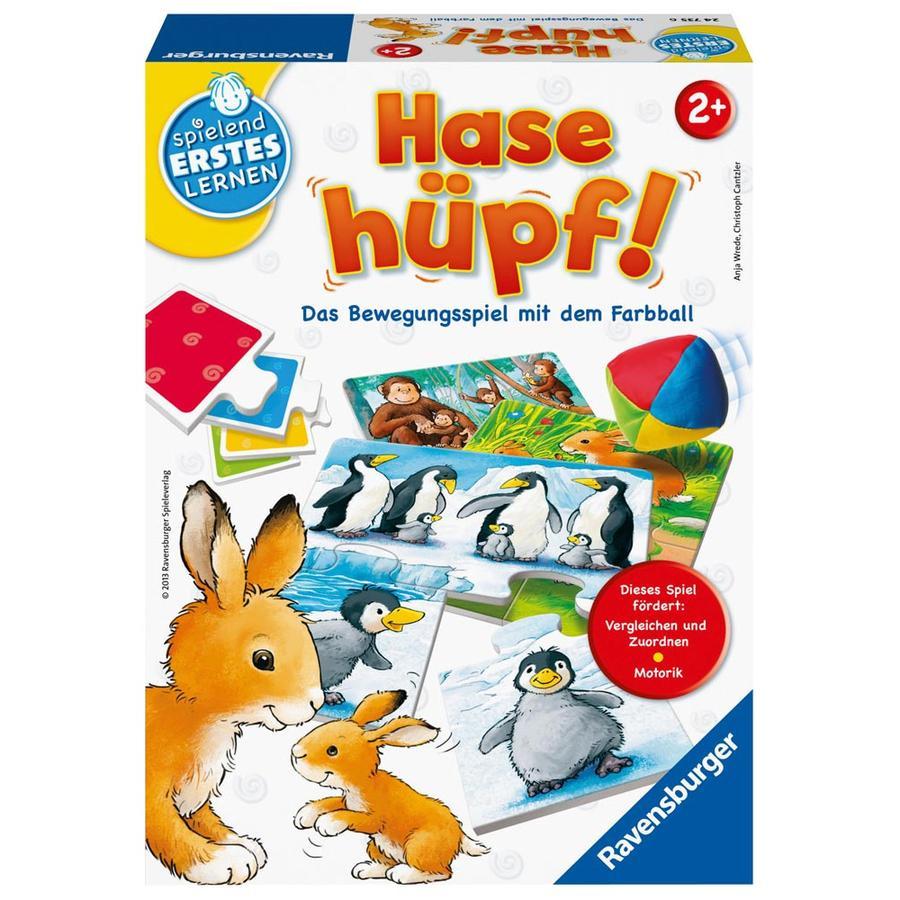 RAVENSBURGER Mitbringspiele Hase hüpf!