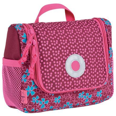 LÄSSIG Mini Washbag Kosmetyczka Blossy kolor róźowy