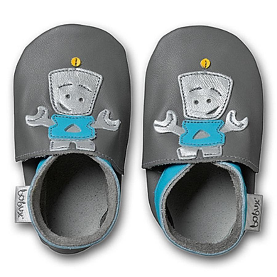 BOBUX Boys Dětské boty ROBOT grey
