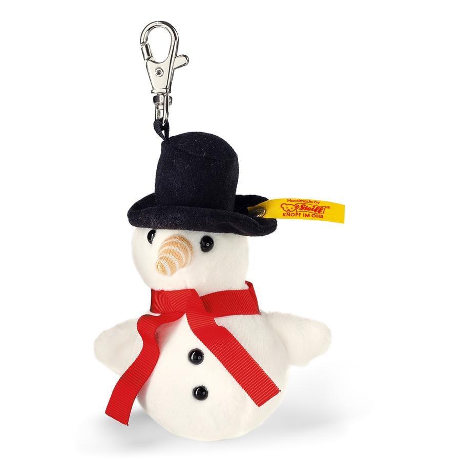 Steiff Porte-clés enfant bonhomme de neige Frosty 10 cm 112331