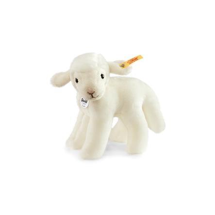 Steiff Baby-lammet Linda, stående, hvid, 16 cm