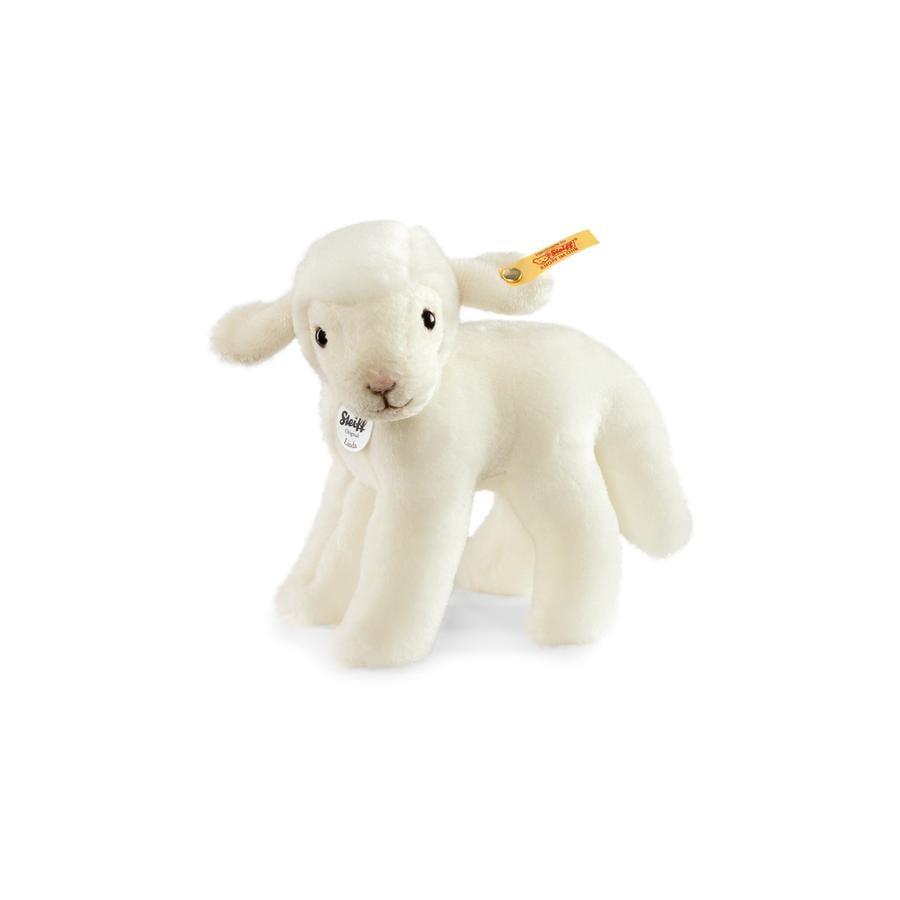 STEIFF Linda Baby Lamb, white, 16 cm