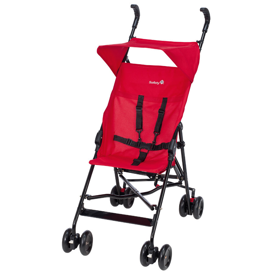 Safety 1st Poussette-canne Peps Plain Red, canopy