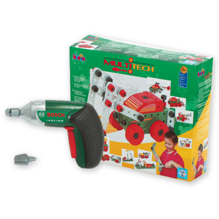 KLEIN BOSCH Mini Multi Tech with Ixolino Cordless Screwdriver