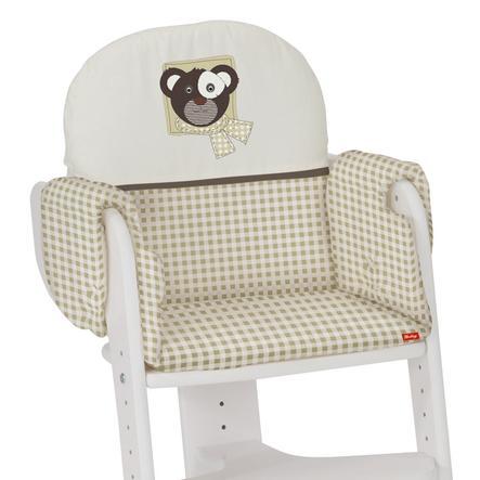 HERLAG Réducteur de siège pour chaise haute Tipp Topp IV beige/vichy