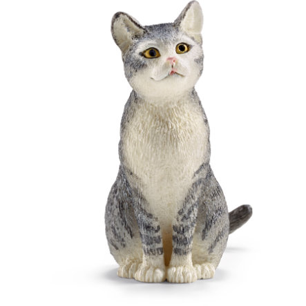 Schleich Figurine chat assis 13771