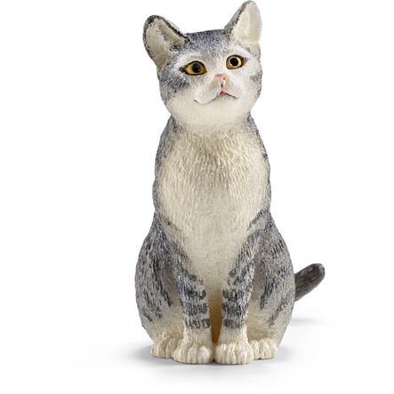 SCHLEICH Katt, sittande 13771