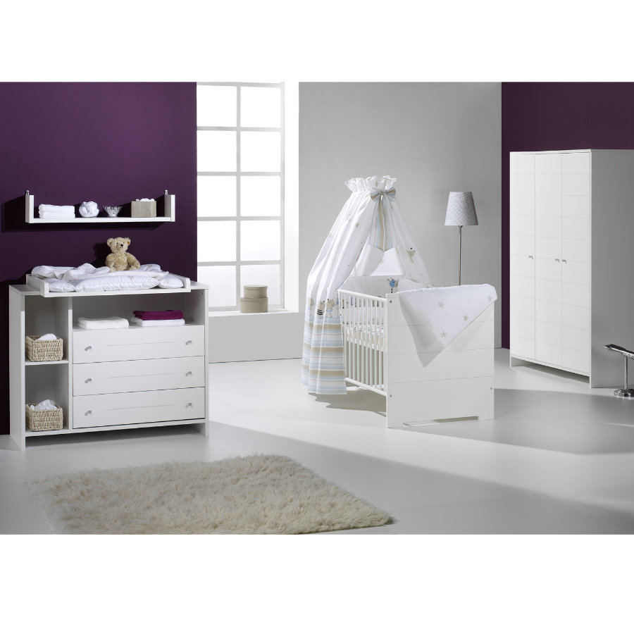 schardt eco stripe chambre d 39 enfant armoire 3 portes. Black Bedroom Furniture Sets. Home Design Ideas