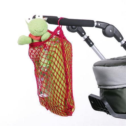 HARMATEX Inköpsnät universal för barnvagnar röd (04)