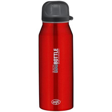 ALFI Láhev na pití isoBottle II z ušlechtilé oceli 0,35 l design Pure červená