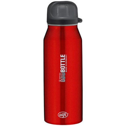 ALFI Trinkflasche ISO Bottle aus Edelstahl 0,35l Design Pure rot