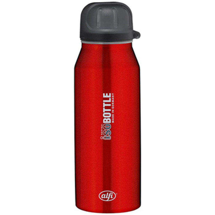 ALFI Flaska ISO Bottle av rostfritt stål, 0,35l Design Pure red