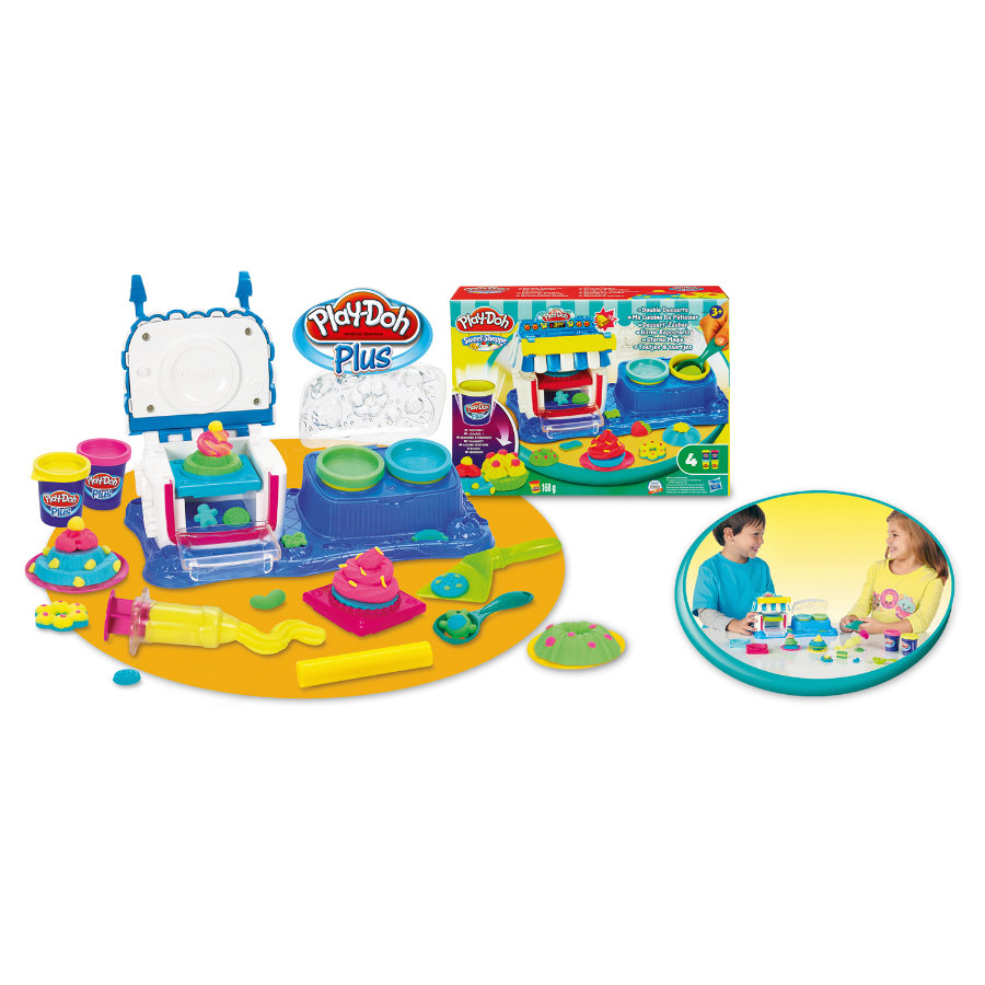 Play-Doh Party Dessert Magie