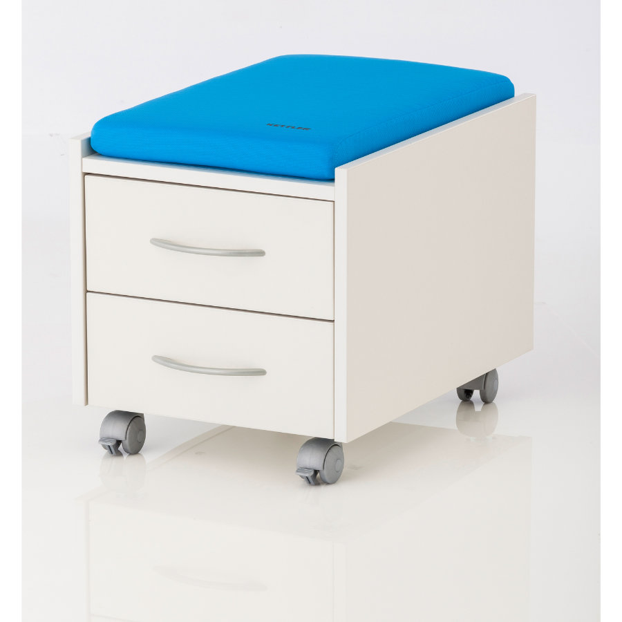 KETTLER cuscino LOGO TRIO BOX /SIT ON azzurro cielo 06775-113