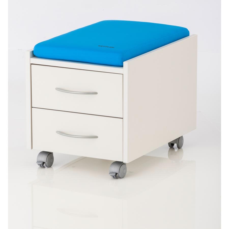 KETTLER Sitzkissen LOGO TRIO BOX /SIT ON Hellblau