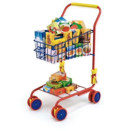 BAYER DESIGN Caddie de supermarché avec contenu