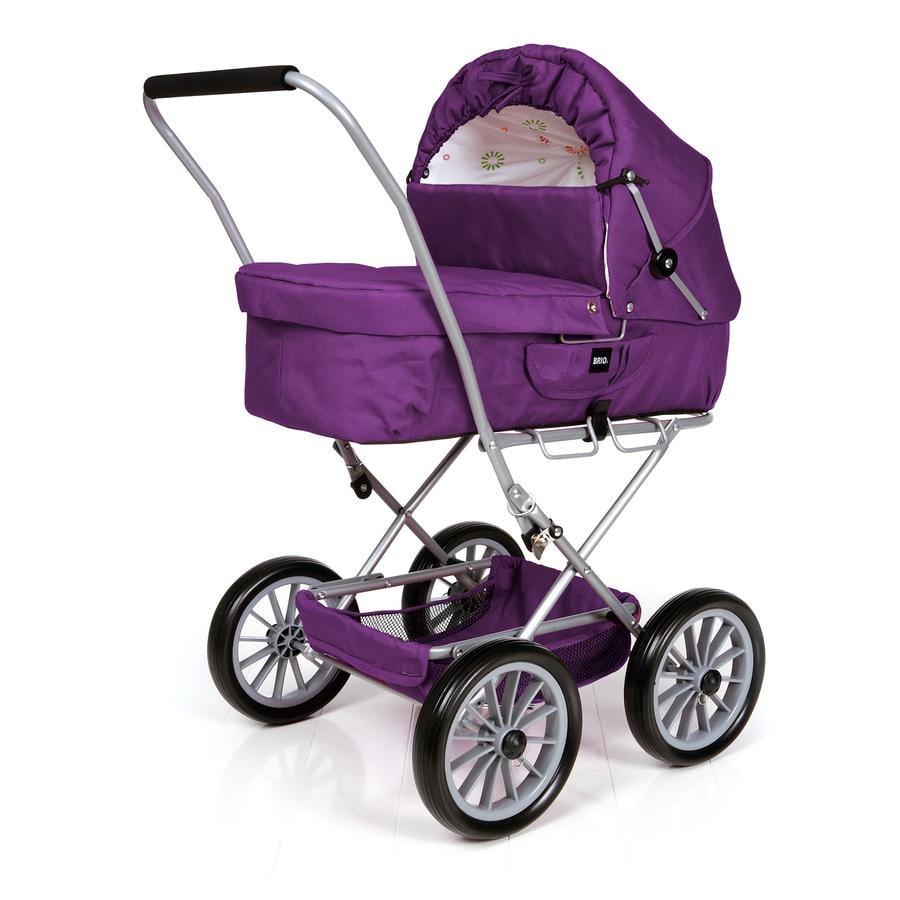 BRIO Cochecito para muñecas clásico color violeta