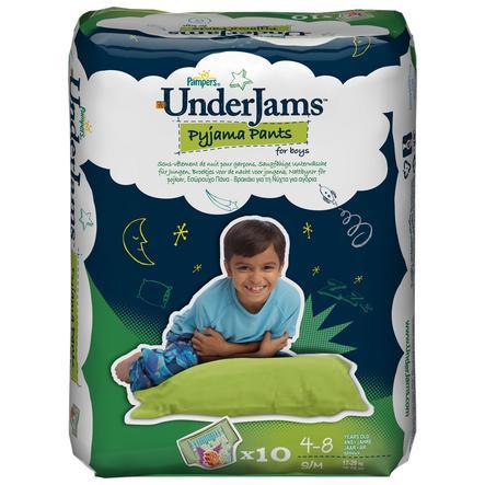 PAMPERS Mutandine UnderJams Pyjama Pants Bambino- Misura S/M (17-29 kg)