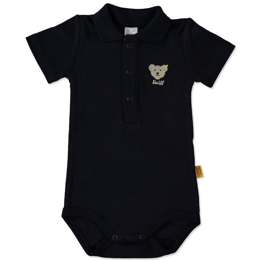 STEIFF Boys Baby Body 1/4 Sleeve navy
