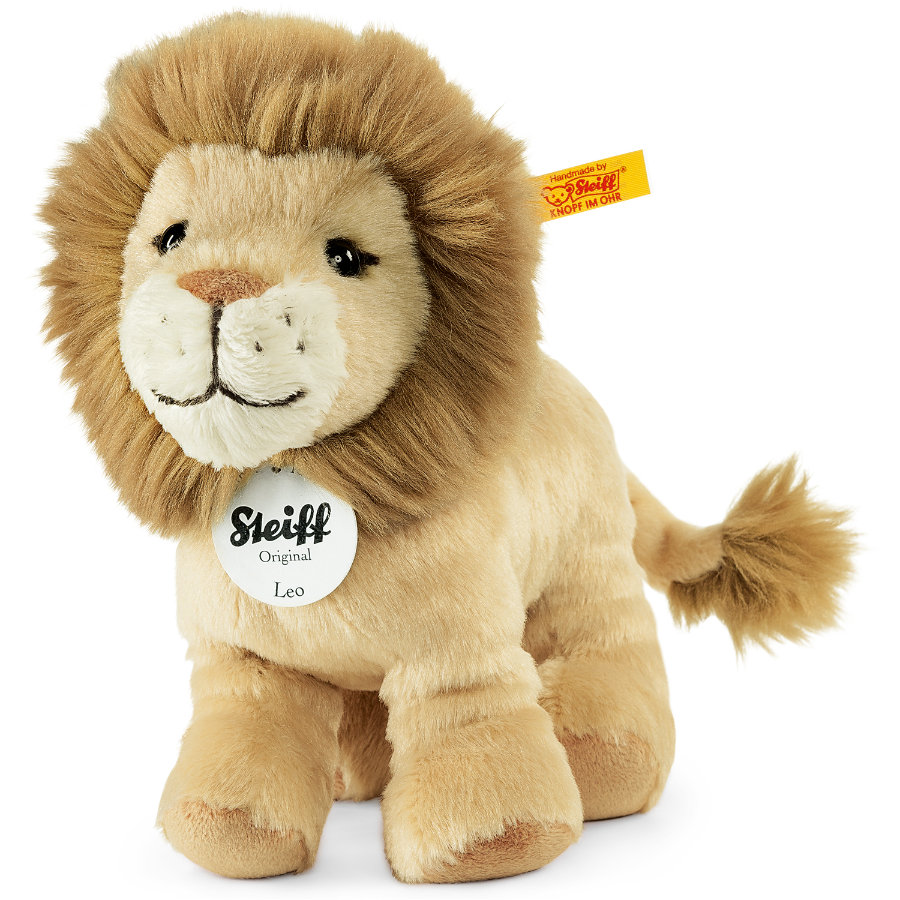 STEIFF Leo Leijona beige seisova, 16 cm