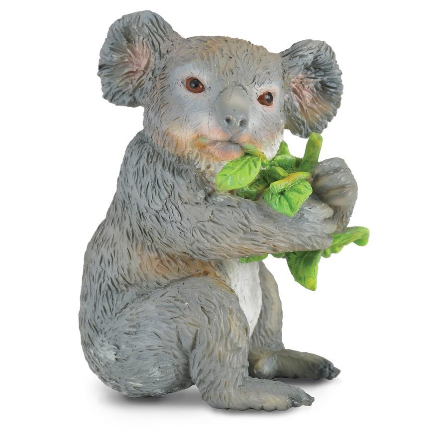 CollectA Divoká zvírátka - Koala, který jí