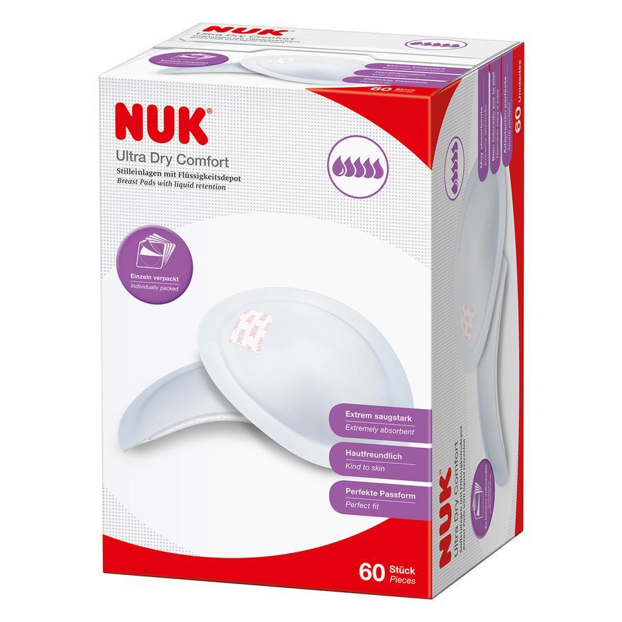 NUK Coussinets d'allaitement ultra absorbants Ulta Dry 60 pièces