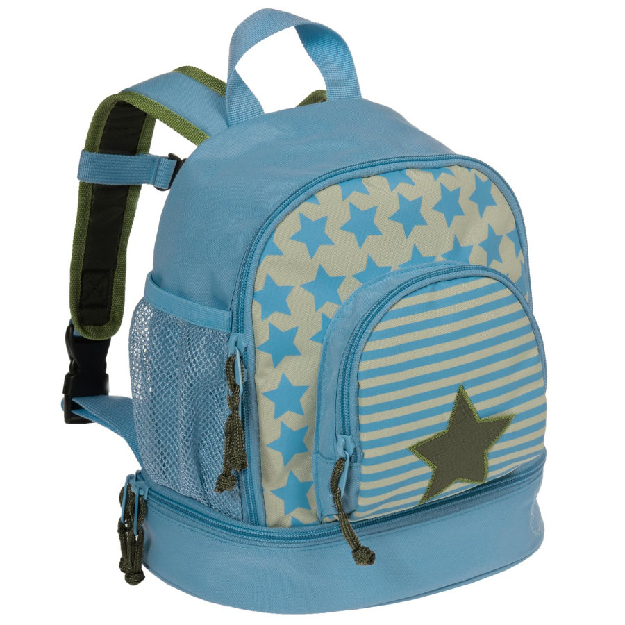 LÄSSIG Mini Backpack Starlight Oliv