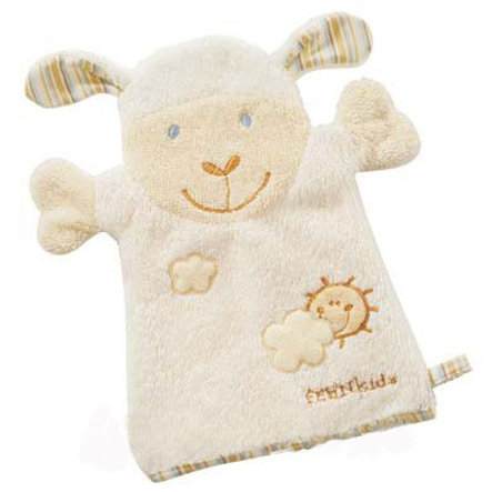 Babysun Gant de toilette enfant Baby Love mouton Paul