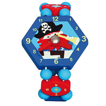 BINO Wrist Watch Pirate, blue