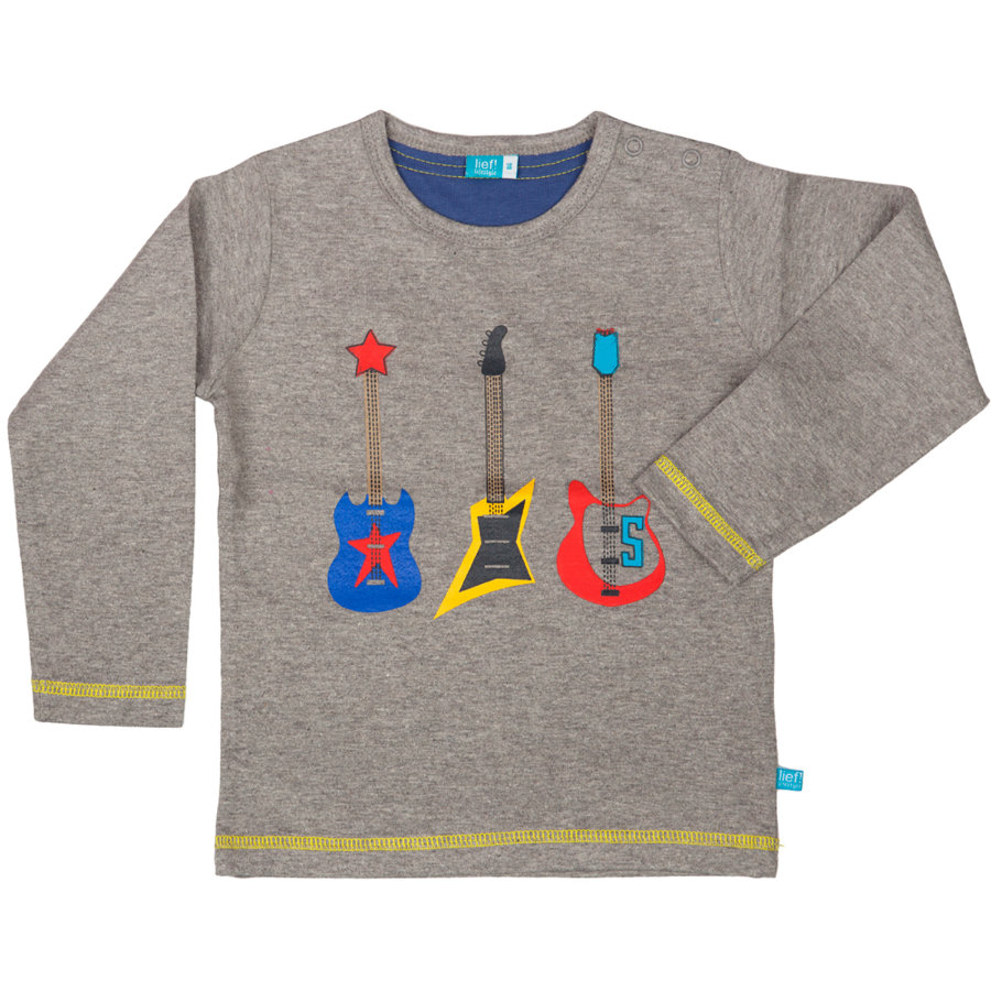 LIEF! Boys Mini Longsleeve grey melange