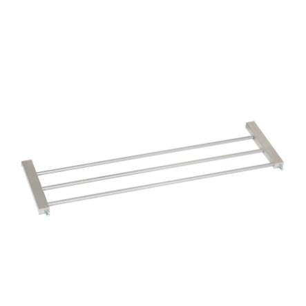 hauck Extension de barrière de sécurité enfant Woodlock 21 cm métal argenté