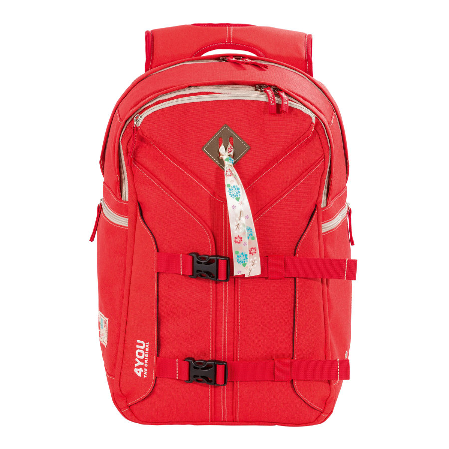 4YOU Flash RS Backpack Boomerang Sport, 236-44 Just Red