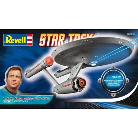 REVELL Star Trek U.S.S USS Enterprise och D7 klingonernas slagkryssare