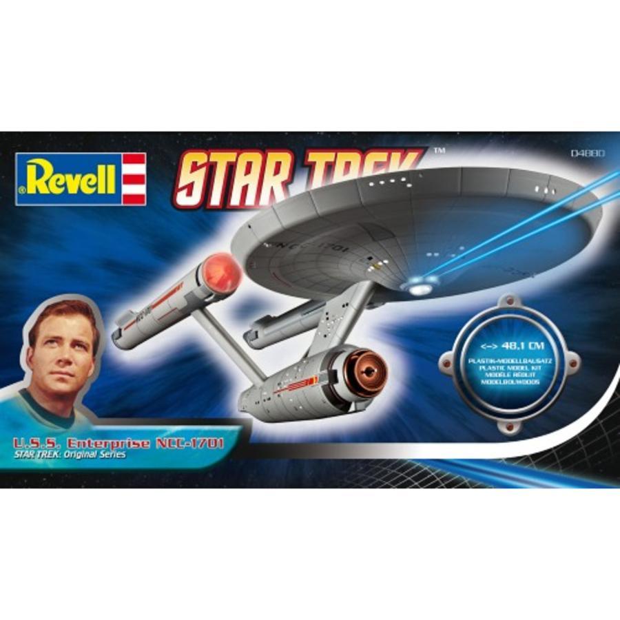 REVELL Bouwpakket USS Enterprise en D7 Klingon slagschip