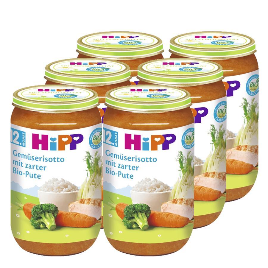HIPP Bio Gemüserisotto mit zarter Bio-Pute 6x250g