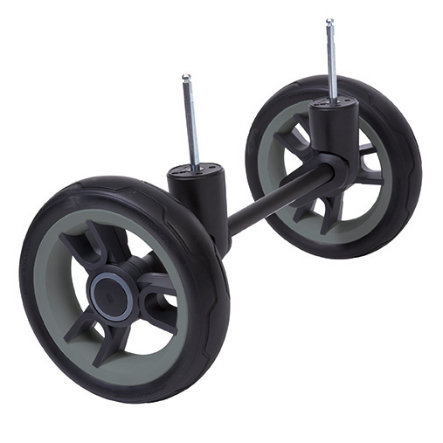 TEUTONIA Cross Country Front Axle for BeYou/Cosmo Wheel 3 black