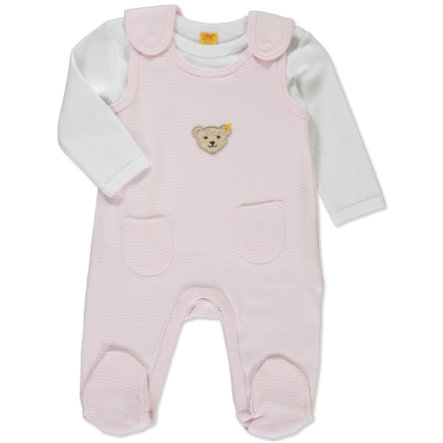 STEIFF Girls Baby Rompers Set 2 pcs. barely pink