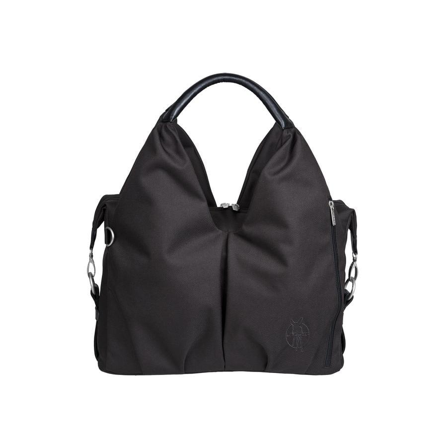 """LÄSSIG Bolso Neckline Bag """"Green Label"""" black"""