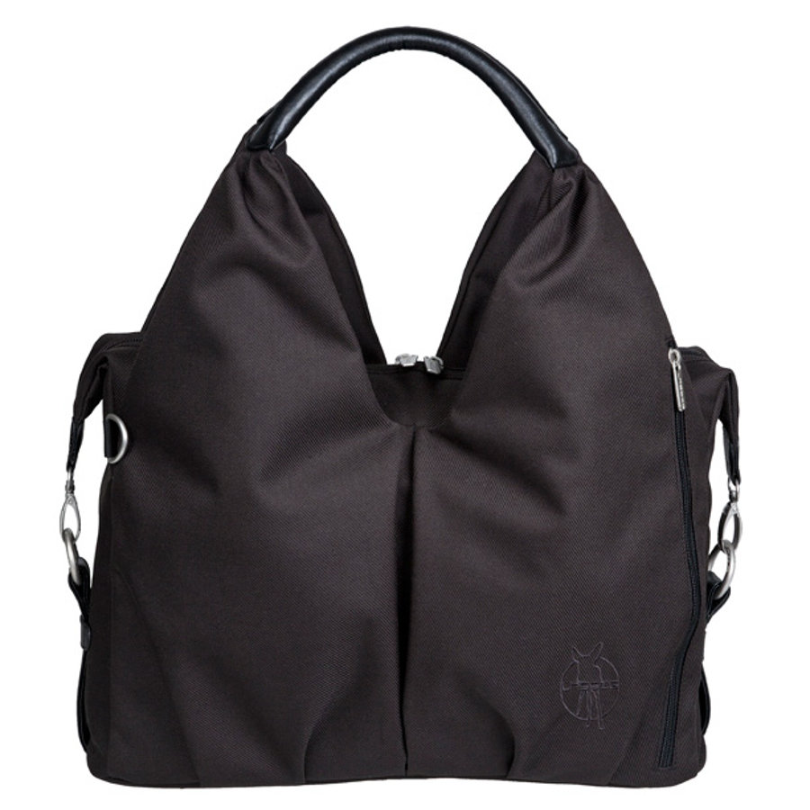 LÄSSIG Green Label Borsa Fasciatoio Neckline Bag black