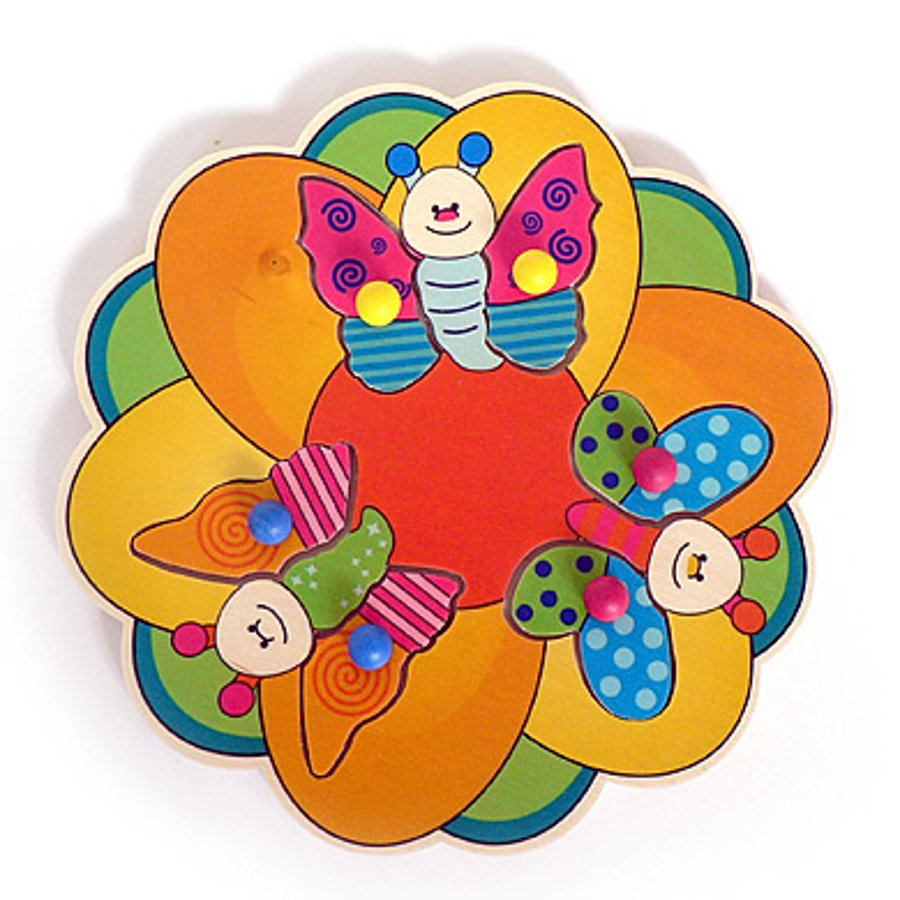 HESS Pegging Puzzle - Butterfly