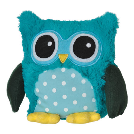 Warmies POP Magnetron warmte knuffel - Uil Turquoise