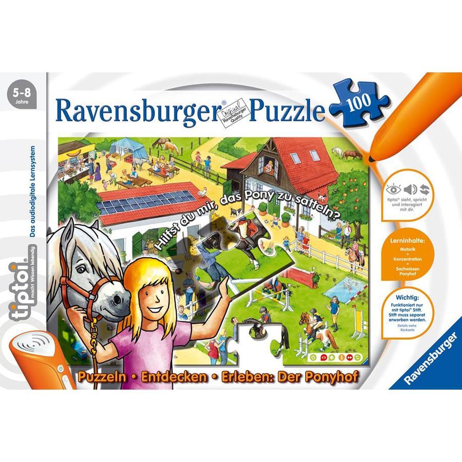 RAVENSBURGER tiptoi Puzzle Ponyhof 00518