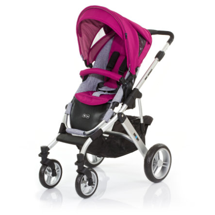 ABC DESIGN Combi Stroller Mamba grape Frame silver / graphite Collection 2015