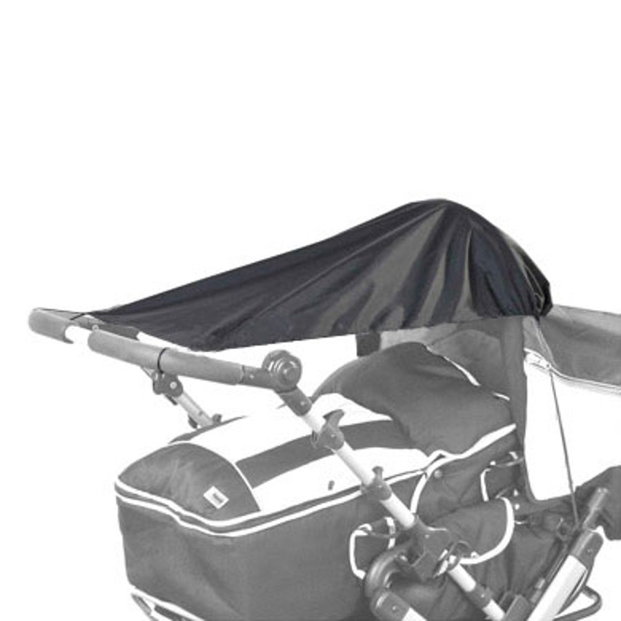REER Solsegel svart 99 % UV-skydd