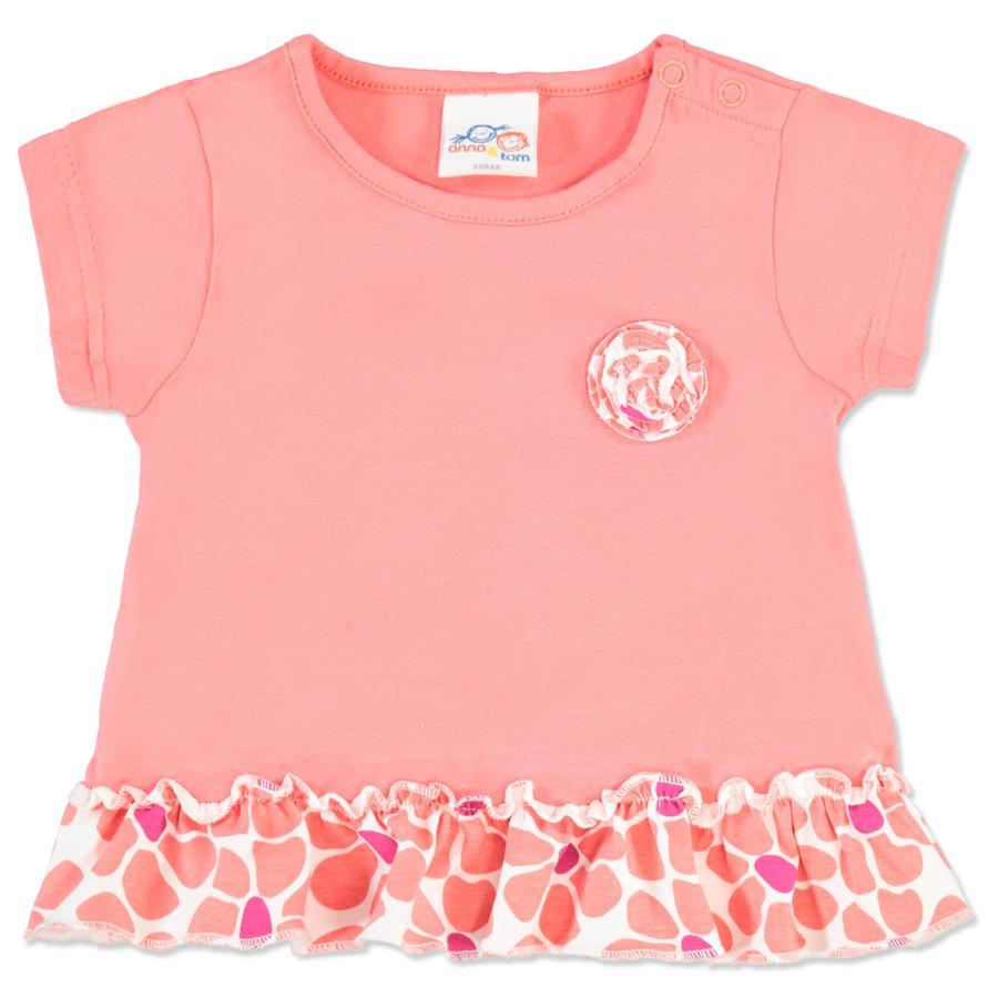 ANNA & TOM T-paita Flamingo, roosa