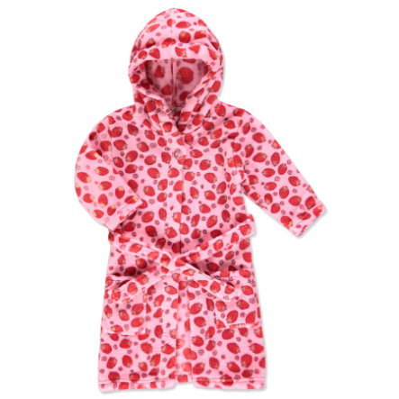 PLAYSHOES Fleece-Badjas Aardbeien