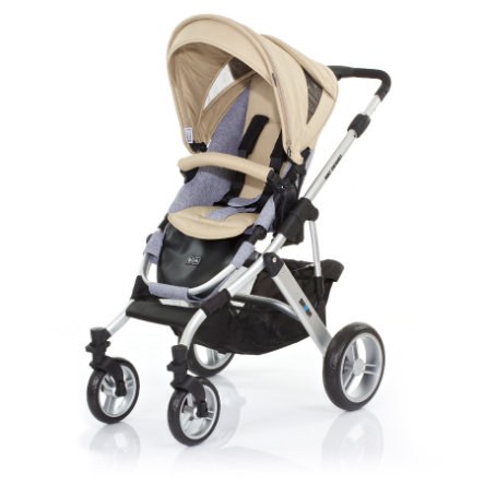 ABC DESIGN Combi Stroller Mamba desert Frame silver / graphite Collection 2015