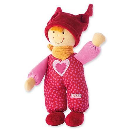 Sigikid Babypop Baby-Dolly Rood 24 cm