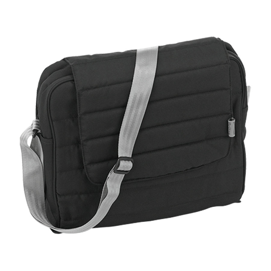 Britax affinity Diaper Bag Black Thunder Collection 2014